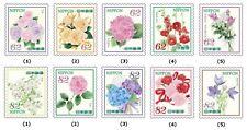 C2356-57 Japanese Postage Stamp 2018 Ceremonial Flower Episode 10 used