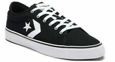 CONVERSE STAR REPLAY OX CANVAS LOW TRAINERS SPORTS MEN SHOES BLACK/W SIZE 13 NEW