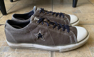 Converse One Star Chuck Taylor Low Olive Green Canvas Men Size 9.5