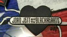 JOAN JETT cloth patch BIKINI KILL L7 THE RUNAWAYS LITA FORD CHEAP TRICK HEART