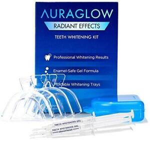 AuraGlow Radiant Effects Teeth Whitening Kit - 35% Carbamide Peroxide - 20