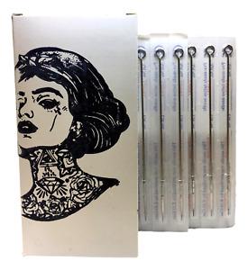 Sterile Premium STICK & POKE Hand Poke DIY Tattoo Needles 3 5 7 9RL Round Liner