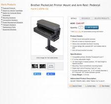 New listing Havis C-Arpb-102 Armrest Bracket Printer pedestal New In Box