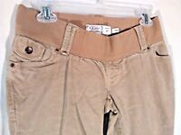 OLD NAVY MATERNITY TAN WOMEN'S STRETCH PANTS LOW RISE XS, (F)