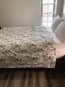 IKEA ALVINE BAR Duvet COVER Pillowcases
