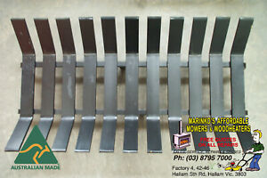 FIRE PLACE GRATE Holds Wood Logs in Open Fire 770mm B/N