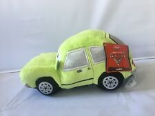 "New Disney Store Exclusive Pixar CARS 2 Acer Pacer 8"" Plush Bean Bag Doll Toy"