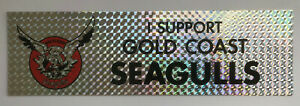 1990's GOLD COAST SEAGULLS Stickers
