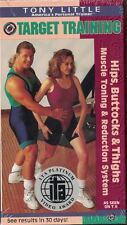 Tony Little - Target Training: Hips, Buttocks & Thighs Reduction System (VHS)