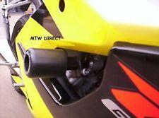 Suzuki GSX R600 K4 2004 R&G Racing Classic Crash Protectors CP0120BL Black