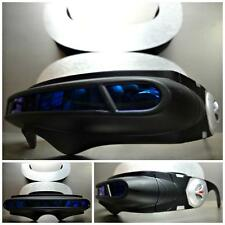 SPACE ROBOT ALIEN PARTY COSTUME CYCLOPS FUTURISTIC WRAP SHIELD SUN GLASSES Black