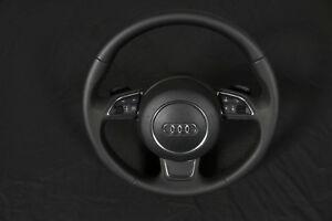 Sport Lenkrad Leder Multifunktion Tiptronic Schaltwippen KOMPLETT Audi A1 8X