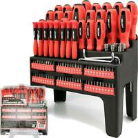 Dekton 100pc Precision Torx Pozi Hex Square Slotted Phillips Screwdriver Set