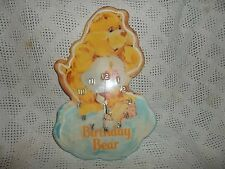 Wooden Care bear Birthday Clock- Rare! Bin M