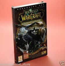 WORLD OF WARCRAFT espansione MISTS OF PANDARIA PC MAC
