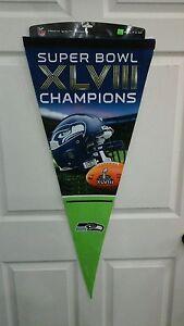 Seattle Seahawks Super Bowl Champs Premium Quality Banner