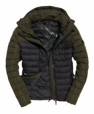 Superdry men's Fuji colour block hooded jacket SIZE 3XL RRP £ 89.99
