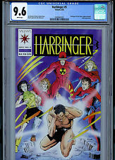 Harbinger #5 CGC 9.6 NM+ with Coupon 1992 Valiant Comics K5 Amricons