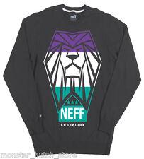 BRAND NEW W/TAGS Neff SNOOP LION DOGG TRIUMPH Crew Sweater Grey MEDIUM-2XLARGE