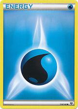 4x Pokemon XY Water Energy 134/146 Common Card