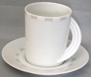 Kaffeetasse 2-teilig Rosenthal Cupola Casetta
