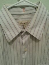 Tommy bahama dress shirt 16 34/35 made in Hong Kong 100% Egyptian cotton