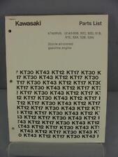 Kawasaki KT43RVS Parts Manual (3143-50B, 50C & more) 2-Cycle Engine