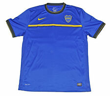 Boca Junior Training shirt Nike XL Blue Argentina  short sleeves CABJ
