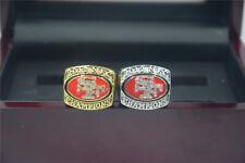 2pcs 2012 2012 San Francisco 49ers Championship Ring //-