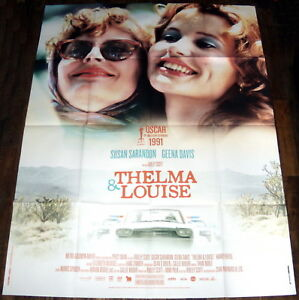 THELMA AND LOUiSE  Susan Sarandon Geena Davis Ridley Scott  LARGE French POSTER