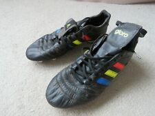 Adidas Gloro Football Boots (3 colour stripes) Size UK 9.5 - Good condition