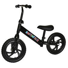 "Balance Bike Kids No-Pedal Learn To Ride Pre Bike 12"" Adjustable Seat"