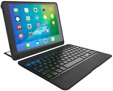 ZAGG Rugged Book Pro Keyboard Folio Case with Kickstand for 9.7 iPad Pro - Black