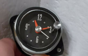 1962 62 Ford Galaxie Clock. Serviced Tested and Working. BEAUTIFUL!!!