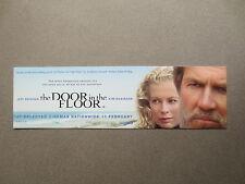 BOOKMARK KIM BASINGER Jeff Bridges 2004 Film The Door in the Floor PROMOTIONAL