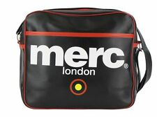 MENS MERC LONDON TARGET MESSENGER FASHION AIRLINE BAG - BLACK