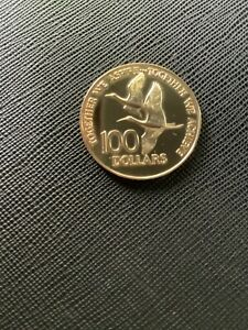 1976 TRINIDAD AND TOBAGO $100 GOLD COMMEMORATIVE