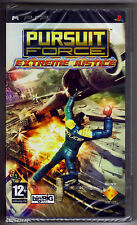 PSP Pursuit Force: Extreme Justice (2007), UK Pal, New & Sony Factory Sealed