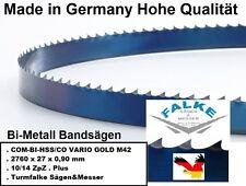 2760x27x0,90mm Bandsägeblätter COM-BI-HSS/CO VARIO (M42)