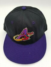 Vintage Akron Aeros New Era Fitted Hat Deadstock Rare 7 90's 5950 Defunct