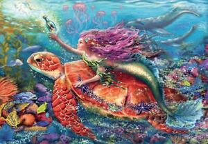 Ravensburger Mermaid Adventures Jigsaw Puzzle 2x24pc