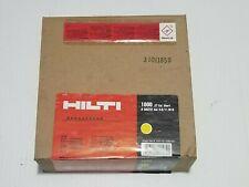 pour cloueur DX Boîte de 100 clous X-CC HILTI pour suspente  EDNI16P8  299936//5