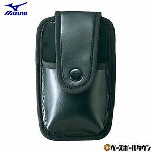 Mizuno Baseball Umpire Brush Pouch (for 2ZU-212) 2ZA268 with Belt Loop JAPAN NEW