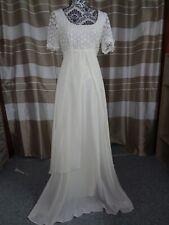 (11)Edles Damen Braut Standesamt Abend Kleid GR: GR: 38
