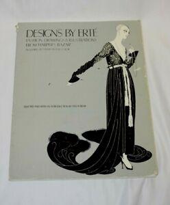 Designs By Erte Paperback Book
