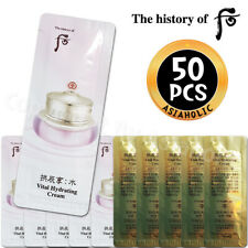 The history of Whoo Vital Hydrating Cream 1ml x 50pcs Soo Yeon Newist Version