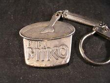 porte clef métal, Glace MIKO pot, Ptipo