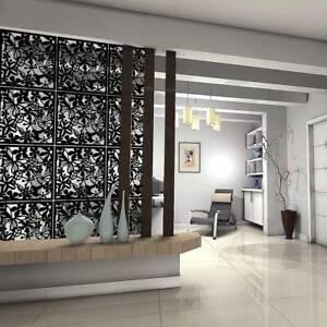 12Pcs Room Divider Screen Partitions Hanging Panel DIY Hollow Curtain Decor Art