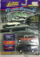 Johnny Lightning Classic Customs 1954 Corvette Nomad & 1995 Corvette ZR-1