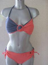 Protest Barber Halter Neck Bikini Twist Front Size 16  XL  NEW TAGS  Rrp £47